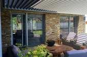 Sklápěcí pergola PLACEO – moderní stínění terasy